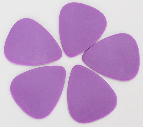 50Pcs*Matte Purle Hard Plastic Color, Guitar Pick 1.2mm