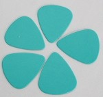 50Pcs*Blue Color,Plastic ABS Guitar Picks 0.71mm