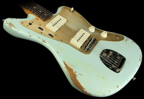 Eric Custom,Relic Jazzmaster Electric Guitar Alder Body,2 Weeks Production Time