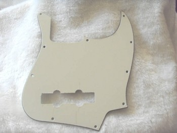 NEW 3 Ply Parchment American Standard Jazz Bass Pickguard