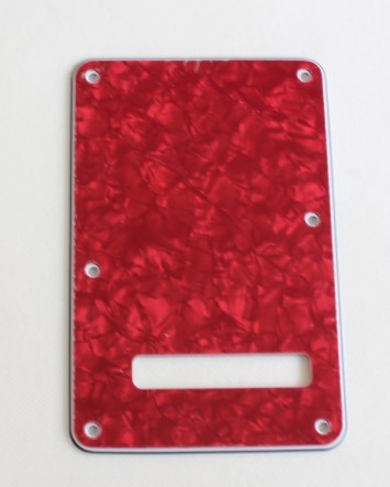 Red Pearl,Standard Stratocaster Back Plate