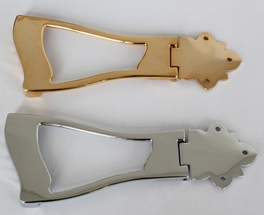 6 Strings,Jazz,Hollowbody Guitar Tail Piece Tailpiece,Chrome or Gold,#SM-300