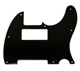 New Painted Bakelite Pickguard,Tele P90 pickup Routing pickguard 3 ply Black