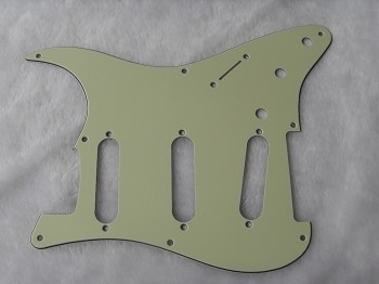 Stratocaster '57 pickguard 3ply Mint Green fits fender new,#V027