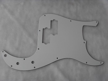 NEW 3 Ply White American Standard P Bass Pickguard