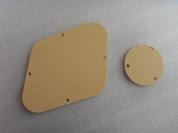 New Les Paul Control Plate with toggle switch cover plate fits Genuine USA Gibson Les Paul Cream