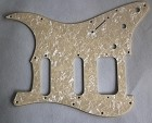 Stratocaster SSH pickguard,Ivory Pearl,Fits Fender