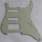 Stratocaster SSH pickguard,Mint Green, fits fender,but no potentiometer mounting holes