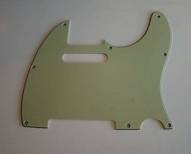 Telecaster '62 pickguard 3ply Mint Green fits fender,#U015