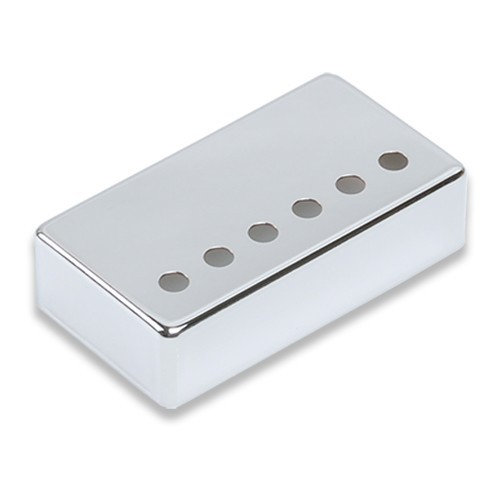 "Chrome Humbucker pickup cover,String spread:1-15/16""(49mm),Height 16mm,fits Genuine Gibson Neck Pickup,Nickel Sliver Material"