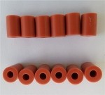 12PCS,Strat Tele Pickup Height Red Hard Rubber Tubing 10mm or 15mm