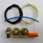 Wiring Kit,for Standard P Bass,CTS A250K,Orange Drop 0.047 capacitor,Switchcraft jack socket