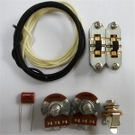 Wiring Kit,for Mustang custom,Pots,Slide switches,Capacitor,Wire,