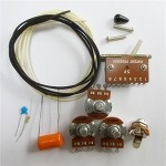 Wiring Kit,for Strat custom,Alpha A250K pot,Good Level Switch,Orange 0.022 capacitor and volume kit,Wire,#WK-ST63