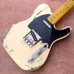 Eric Custom,Relic Tele  Electric Guitar Alder Body,2 Weeks Production Time