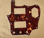 JAGUAR Pickguard for Humbucker Pickup ,Brown Tortoise Shell