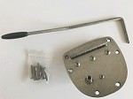Antique Sliver Tremolo,For Fender 62 Jazzmaster,Jaguar
