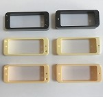 P90 size Pickup Ring for Asian made Metric size Mini Humbucker,in 2 or 4 mounting holes