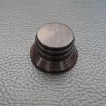Wood knob,Bell Shape,Rosewood wood,Push on style Knob