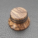 Wood knob,Bell Shape,Zebra wood,Push on style Knob