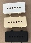 2PCS,Jazzmaster Pickup Covers Aged White,Ivory,or Black