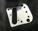 Chrome Tele Bridge,Pickup Metal Plate