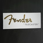 Gold Water Slide Decal Logo Telecaster for Fender Repair Restoration