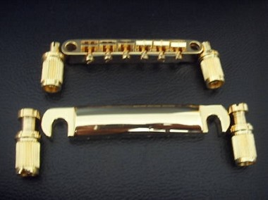 New Gold Tune-O-Matic Bridge Tail for Les Paul guitar